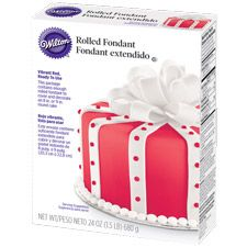 Avoid the mess and hassle of coloring fondant red by hand! With Wilton Ready-To-Use Rolled Fondant, the deep, rich color has no impact on the delicious flavor. And, it's the perfect consistency for full cake coverage.