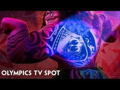 Disney Gives a Closer Look at the Character of Maui in an Olympic Television Spot for Moana