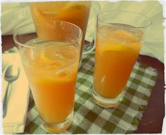 Refreshing Homemade Peach Lemonade