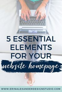 Your homepage is the first impression of your website. Make sure you have these must-haves for your homepage!