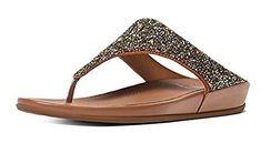 #FitFlop Fitness Schuhe Sandale - Banda Roxy Sandalen, Bronze. Clogs, Fitflop, Roxy, Sneaker, Bronze, Fitness, Fashion, Sandals, Comfortable Sandals