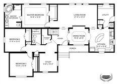 modular home floor plans 4 bedrooms Bedroom Floor Plan B 6594