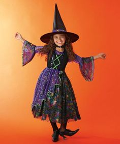 Rainbow Crazy Witches Hat Cute Witch Headband Spell Fancy Dress Halloween UK