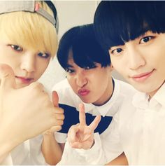 J-Hope With SPEED's Yuhwan & Sungmin (150624)