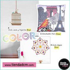 Donde Comprar Mejor Te damos tres propuestas en deco para darle un touch de color a tus ambientes. ¿Cuál te gusta más?  Conseguilas en www.tiendadcm.com/products/list/brand/21201