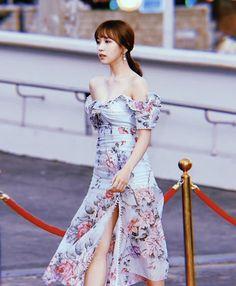Shoulder Dress, Kpop, Dresses, Fashion, Vestidos, Moda, Fashion Styles, Dress, Fashion Illustrations