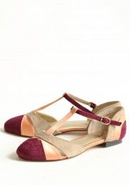 freesia t-strap flats by Seychelles