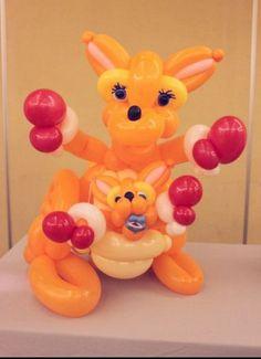 #balloon #kangaroo #baby #balloon #art #sculptures #twist #characters