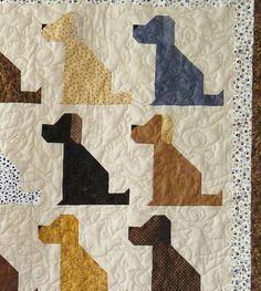 Image result for Free Dog Quilt Block Patterns