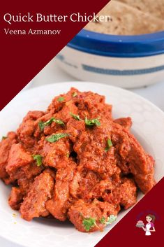 Indian butter chicken is the most popular dish in any Indian restaurant. Similar to the chicken tikka masala or chicken biryani. This is my quick and easy Pork Recipes, Baby Food Recipes, Indian Food Recipes, Chicken Recipes, Ethnic Recipes, Best Appetizers, Appetizer Recipes, Entree Recipes, Dessert Recipes