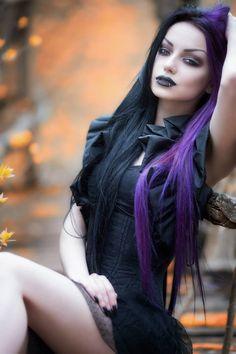 #Black #taffeta #gothic #victorian #shrug #ruff #bolero by #mysticthread - www.mysticthread.com /Model, Photo, Mua #DaryaGoncharova /Photo: #VeniGeo / #handmadeclothes