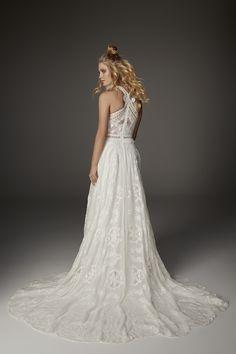 Raven Gown   Rue De Seine Wedding Dress Collection