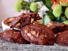Вкусно с Йоли: Шоколадови бисквити с ядки