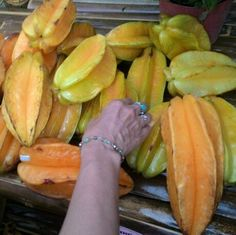 LOOK IT !!   How great this STAR FRUIT.