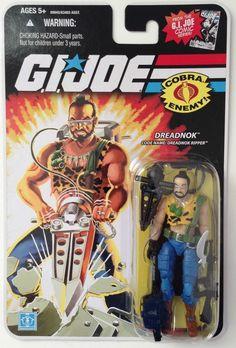 *SALE*-G.I.JOE-RIPPER-ACTION FIGURE-NEW-NR-*SALE* #Hasbro