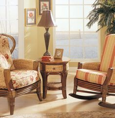 Hillsboro Recliner Chair Queen Anne Style Wing