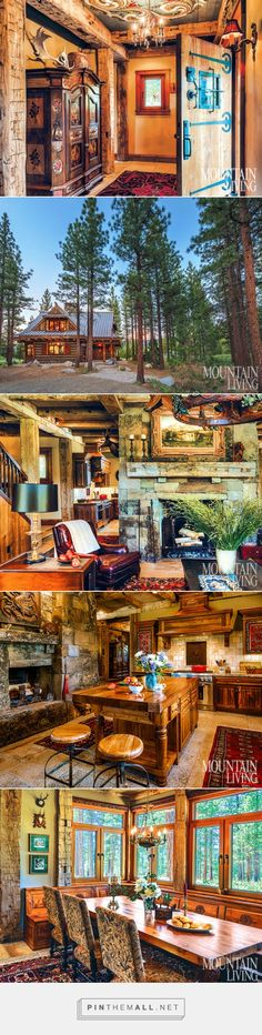 A Handcrafted and Historic Sierra Nevada Cabin - created via http://pinthemall.net