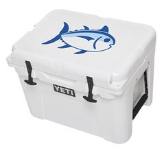 b6971a85f58dc 35 Qt. YETI cooler with Southern Tide s Skipjack logo - FOR STEVEN  ) HE
