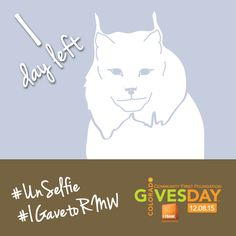 Tomorrow is #ColoradoGives Day! Share why you gave to RMW with the hashtag #IgavetoRMW and share an #UnSelfie! http://rockymountainwild.org/donate/giving