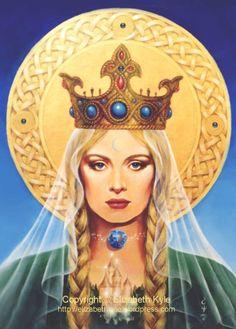 Celtic Madonna/Dana /High Priestess