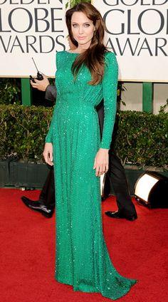 Angelina Jolie, Atelier Versace, 2011