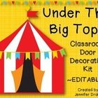 Are you planning on a circus-themed classroom and want to invite your students into your class with a fun and decorative door? This set is fully e...