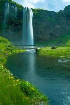 Amazing View of Seljalandsfoss, Iceland