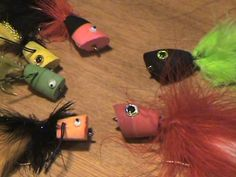 Creating Foam Popper Heads from Flip-Flop Sandals - At Rx Fly Fishing, we're always looking for a way to be