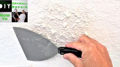 Knockdown texture sponge  a great diy knockdown texture matching  tool