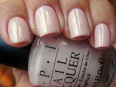 Need to start growing my nails back out and sampling some wedding nail colors. this one: OPI Let Them Eat Rice Cake Opi Nails, Nude Nails, Neutral Nails, Nail Polishes, Blush Pink Nails, Opi Nail Polish Colors, Opi Pink, Polish Nails, Stiletto Nails