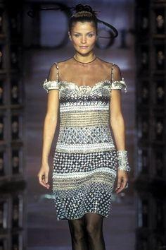 Helena Christensen - Christian Dior Haute Couture,  Fall/Winter 1996