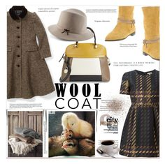 """""""Cold Weather Essentials: Wool Coat"""" by meylimayli ❤ liked on Polyvore featuring Ralph Lauren, P.A.R.O.S.H., Furla and Norma J.Baker"""
