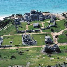 Tulum Ruins in Mexico, has been one of the most beautiful places I've seen in person, would love to visit again!!!!