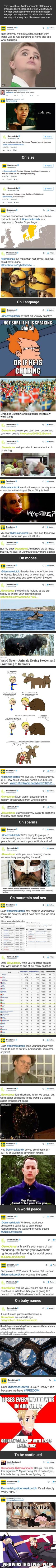 Modern Warfare: Denmark And Sweden Had An Epic Twitter Fight About Mooses And Sperms