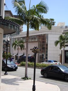 Rodeo Drive, Beverly Hills...will go back one day