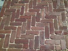 Patio Flooring, Brick Flooring, Floors, Outdoor Spaces, Indoor Outdoor, Outdoor Living, Garden Inspiration, Garden Ideas, Garden Paths