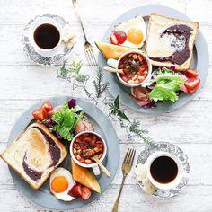 Breakfast Cafe, Good Morning Breakfast, Cafe Food, Food Menu, Brunch, Food Goals, Food Presentation, Food Design, Food Photography