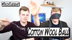 British Twins NikinSammy do the Cotton Wool Ball challenge on because they like challenge videos. HAVE FUN! Youtubers, Have Fun, Twins, British, Challenges, Wool, Facebook, Twitter, Videos