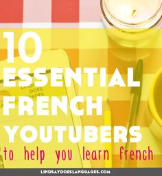 Looking for some French YouTubers to make the most of the time you will inevitably spend on YouTube? Here's 10 fantastique channels to get you started. Click through to read!