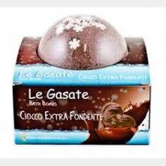 Bomba Frizzante - Ciocco Extra Fondente - per un bagno benefico e rilassante - In vendita su: http://www.trucconatura.com Disponibile: € 5,50