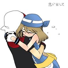 Pokemon Ruby Sapphire May Canon Pokemon Manga, Pokemon Mew, Pokemon Ships, Pokemon Funny, Pokemon Stuff, Sapphire Pokemon, Ruby Sapphire, Pokemon Adventures Manga, Pokemon Couples
