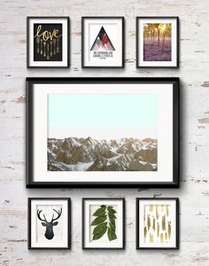 Frame Game: Cozy Rustic Vibe for a Cabin Gallery Wall • Frame Game isanoccasional series in which I take readers' gallery wall requests and find art that fits their personalities •Little Gold Pixel