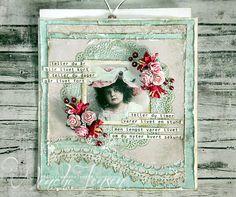Romantisk bursdagskort - Global Hobby og Kunst