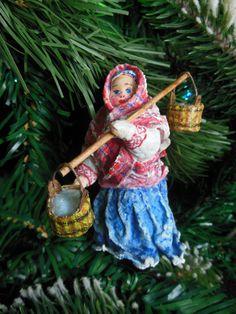 """елочная игрушка из ваты по сказке """"Морозко"""" http://vk.com/id235986939"""