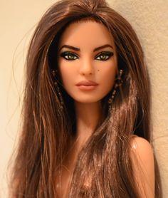 Raquel Barbie basics repaint.