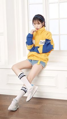 Quirky Fashion, Iu Fashion, Fashion Poses, Korean Fashion, Cute Korean, Korean Girl, Female Pose Reference, Best Photo Poses, Model Face