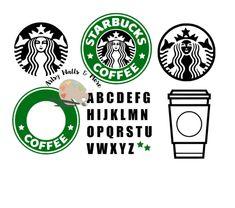 Silhouette Cameo Machine, Silhouette Cameo Projects, Silhouette Design, Silhouette Files, Silhouette Pictures, Silhouette Curio, Silhouette Portrait, Starbucks Logo, Starbucks Coffee