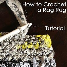 1000 Ideas About Rag Rug Tutorial On Pinterest Scrap