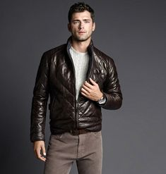 Sean O'Pry for Massimo Dutti September 2014 Lookbook