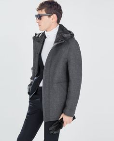 ZARA - END OF SEASON - DOUBLE-FACED COAT